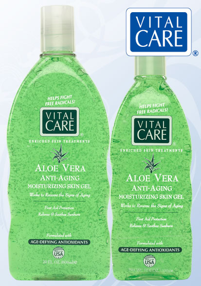 from 100 % pure aloe vera gel nature s own skin soothing treatment