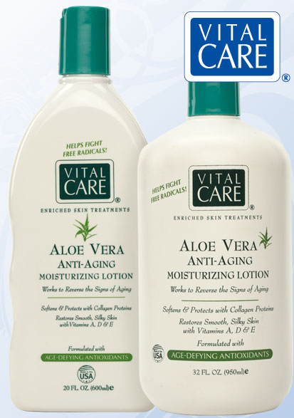 Aloe Lotion on Face Aloe Vera Anti-aging Lotion is